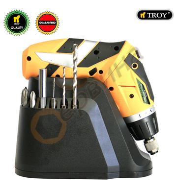Акумулаторна отвертка TROY T13036 - 3.6V/1.5Ah Li-Ion