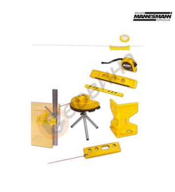 Комплект измервателни инструменти Mannesmann M81170 - 10бр.