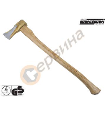 Брадва с дървена дръжка Mannesmann M76536 - 2700гр.