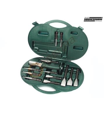 Комплект ръкохватка със сменяеми длета / секачи Mannesmann M