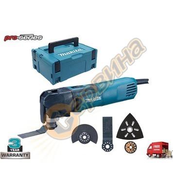 Мултифункционална машина Makita TM3010CX6J - 320W