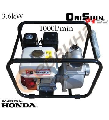 Водна-самозасмукваща помпа бензинова Daishin SCR-80HX - 3,6k
