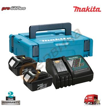 Акумулаторен комплект батерии и зарядно Makita 197952-5 - 18