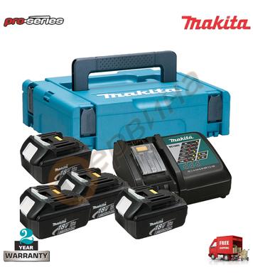 Акумулаторен комплект батерии и зарядно Makita 196697-2 - 18