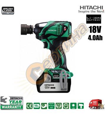 Акумулаторен ударен гайковерт Hitachi WR18DBAL2 - 18V/4.0Ah