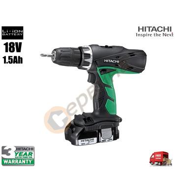 Акумулаторен ударен винтоверт Hitachi DV18DCL2 - 18V/1.2Ah/L