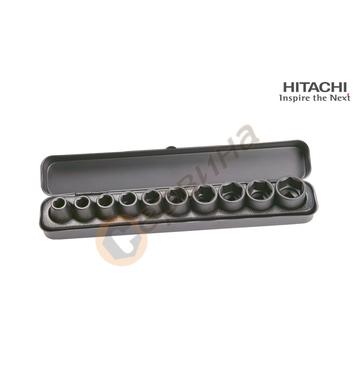 Комплект ударни вложки 1/2 Hitachi 751879 - 10бр