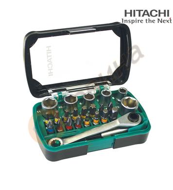 Комплект накрайници Hitachi 750362 - 24бр.