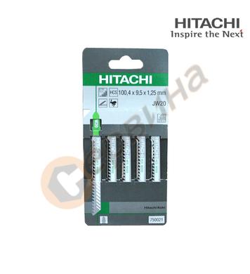 Комплект нож за зеге/прободен трион Hitachi 750021 - 5бр