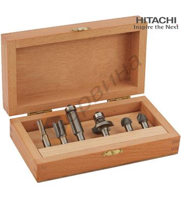 Комплект фрези за дърво Hitachi 754191 - ф8мм