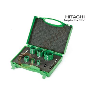 Комплект биметални боркорони Hitachi 752171 - 8бр