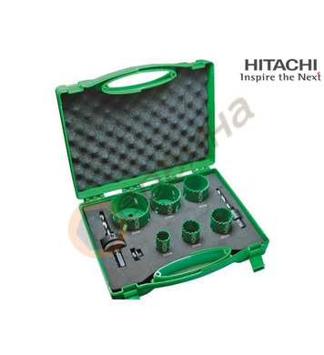 Комплект биметални боркорони Hitachi 752172 - 8бр