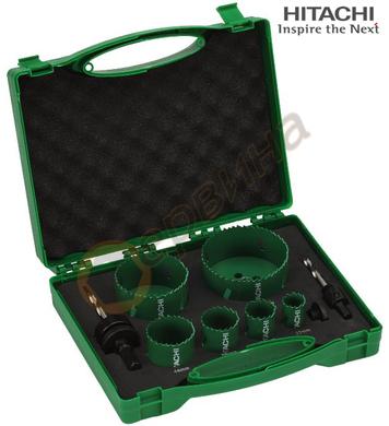 Комплект биметални боркорони Hitachi 752175 - 8бр