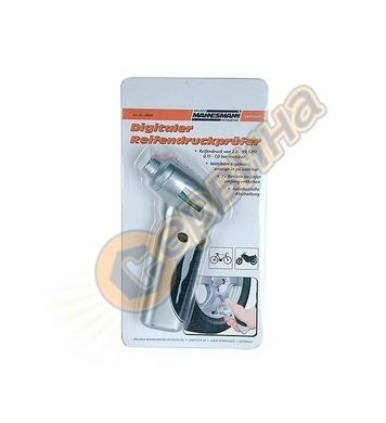 Дигитален манометър за гуми Mannesmann M00540 - 0.15-7.0 bar