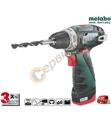 Акумулаторен винтоверт Metabo PowerMaxx BS Basic 600080500 -