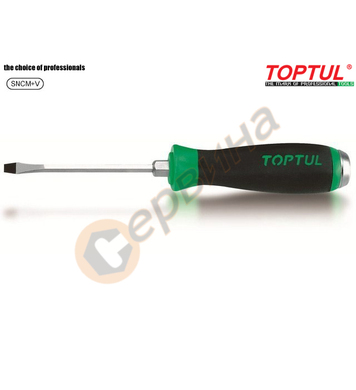 Професионална ударна права отвертка Toptul FAGB1020 - 10.0x2