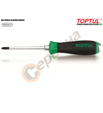 Професионална ударна кръстата отвертка Toptul FBGB0108 - PH1