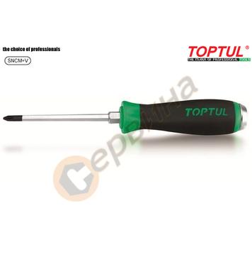 Професионална ударна кръстата отвертка Toptul FBGB0210 - PH2