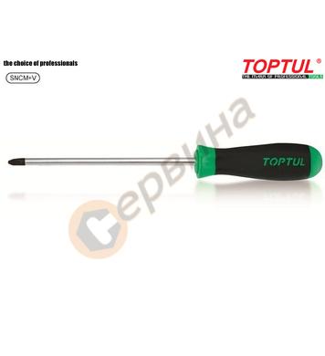 Професионална кръстата отвертка Toptul FBAB0110 - PH1x100мм