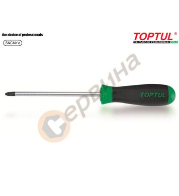 Професионална кръстата отвертка Toptul FCAB0006 - PZ0x60мм
