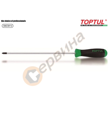 Професионална кръстата удължена отвертка Toptul FBCB0225 - P