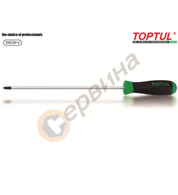 Професионална кръстата удължена отвертка Toptul FBCB0140 - P