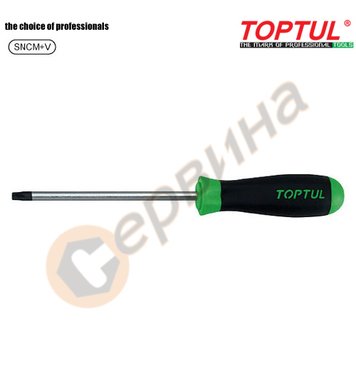Професионална отвертка torx Toptul FEAB0808 - T8x75мм