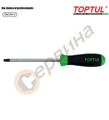 Професионална отвертка torx Toptul FEAB0908 - T9x75мм