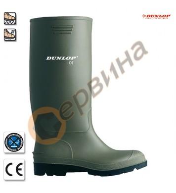 Работни ботуши Dunlop- зелени 9SELE