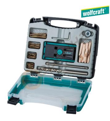 Шаблон за сглобки комплект Wolfcraft 4642000