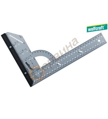 Прав ъгъл с ъгломер Wolfcraft 5206000 - 280х500мм