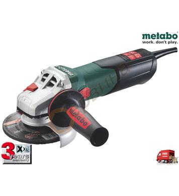 Ъглошлайф Metabo WEV 10-125 600388000 - 1000W