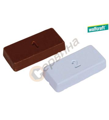 Абразивна полирпаста Wolfcraft 2134000 - 2бр