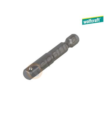 Адаптор-адаптер за вложки Wolfcraft 1579000 1/4 - 1/4