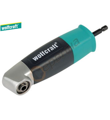 Правоъгълен ъглов адаптер-адаптор за накрайници Wolfcraft 46