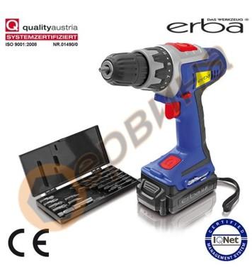 Акумулаторен винтоверт ERBA ER33681 - 14.4V / 1.3Ah Li-Ion