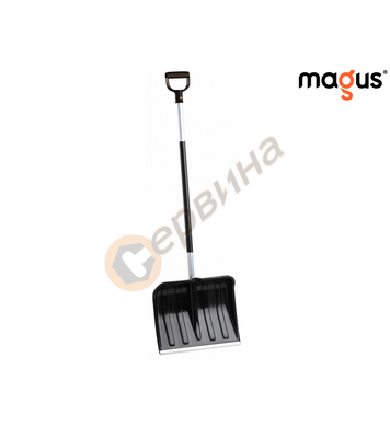 Лопата за сняг с алуминиева дръжка Magus MagAL-40 - 40см