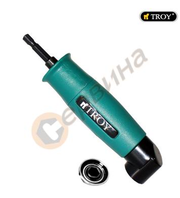 Правоъгълен ъглов адаптер-адаптор за накрайници Troy T90001