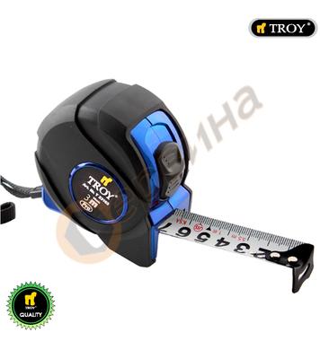 Ролетка със стопер Troy T23165 - 5м х 25мм