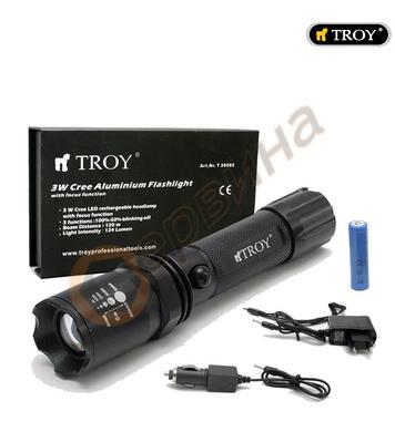 Ръчен фенер TROY T28085 - 124 лумен