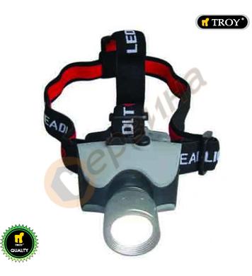 Акумулаторен фенер за глава TROY T28203 - 3W