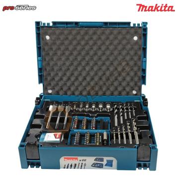 Комплект свредла и битове Makita B-43044 - 66 части