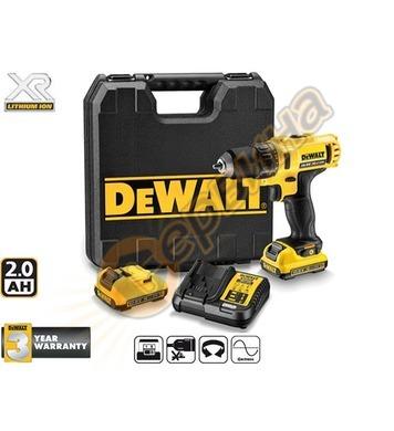Акумулаторен винтоверт DeWalt DCD710D2 - 10.8V/2.0Ah Li-Ion