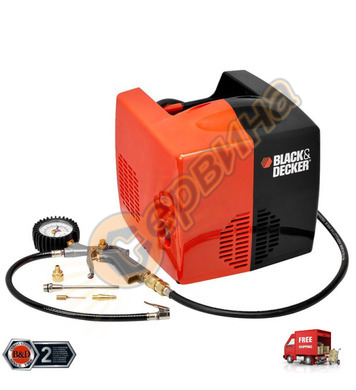 Компресор Black&Decker Cubo 8215340BND701 - 8bar/1.5HP