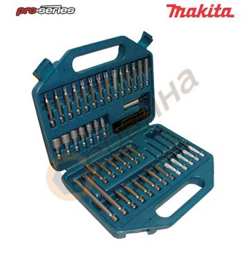 Комплект усилени битове-накрайници Makita P-45272 - 43 части