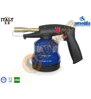 Професионална горелка с пиезо за пропан-бутан Ausonia AU4881