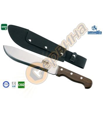 Мачете-нож с дървена дръжка Inox Ausonia AU28403 - 46см