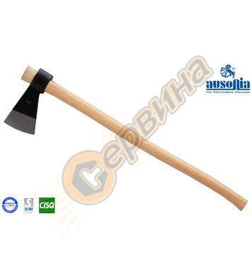 Брадва с дървена дръжка Ausonia AU86901 - 2кг