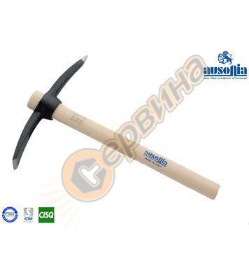 Мини кирка с дървена дръжка Ausonia AU45107 - 0.400кг