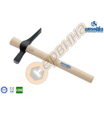 Зидарски чук с дървена дръжка Ausonia AU45120 - 0.600кг